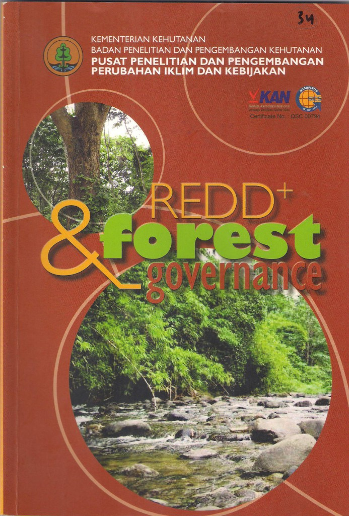 Cover depan REDD+ dan Forest Governante